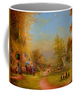 The Shire Once Upon A Time  Coffee Mug by Joe Gilronan