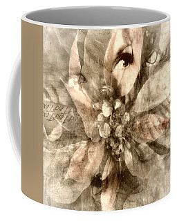 Once Upon Grandmom's Poinsettia Coffee Mug