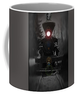 Coffee Mug featuring the photograph Oncoming by Tikvah's Hope