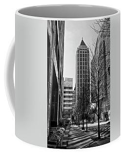 One Atlantic Center In Black And White Coffee Mug