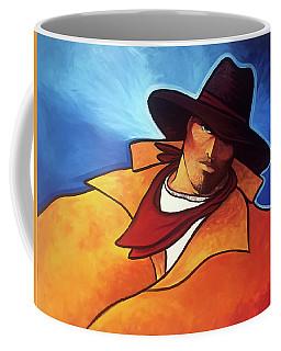 One Blue Eye Coffee Mug