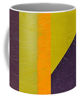 Coffee Mug featuring the painting One By Three by Michelle Calkins