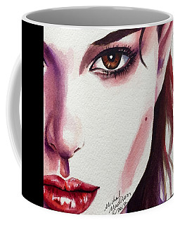 Coffee Mug featuring the painting One Decision by Michal Madison