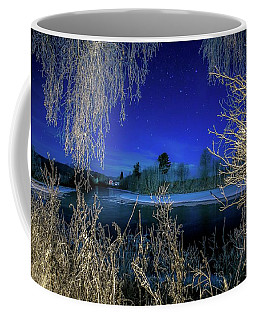 One Evening In December Coffee Mug by Rose-Marie Karlsen