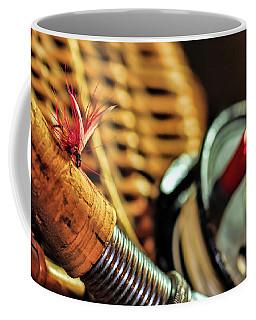 One Fly One Rod One Creel Coffee Mug