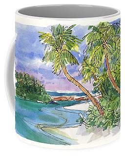 One-foot-island, Aitutaki Coffee Mug