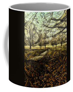 Coffee Mug featuring the digital art One For My Baby And One More For The Road by Leigh Kemp