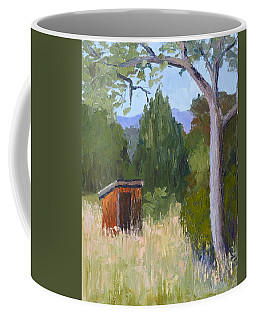 One Holer Coffee Mug