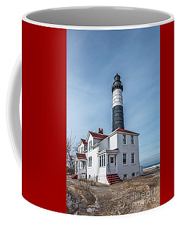 Coffee Mug featuring the photograph One Hundred Twelve Foot Lighthouse Tower by Sue Smith