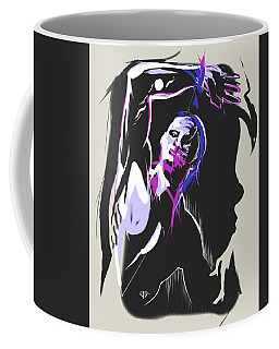 One Kiss Twice Coffee Mug by John Jr Gholson
