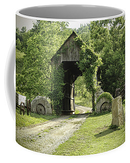One Lane Covered Bridge Coffee Mug