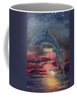 One Last Jump Coffee Mug by Randy Sprout
