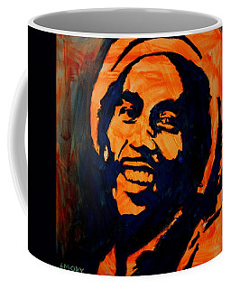 Coffee Mug featuring the painting One Love by Blake Emory