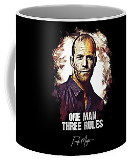 One Man Three Rules - Transporter Coffee Mug