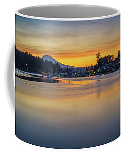 Coffee Mug featuring the photograph One Morning In Gig Harbor by Ken Stanback