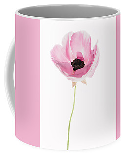 One Pink Beauty Coffee Mug by Rebecca Cozart