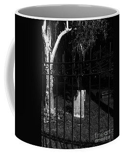 One Stone Black And White Coffee Mug