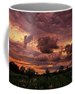 One Stormy Sunset Coffee Mug