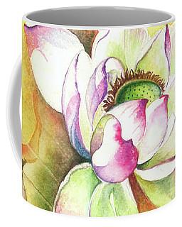 Coffee Mug featuring the painting One Sunny Day by Anna Ewa Miarczynska