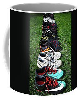 Coffee Mug featuring the photograph One Team ... by Juergen Weiss