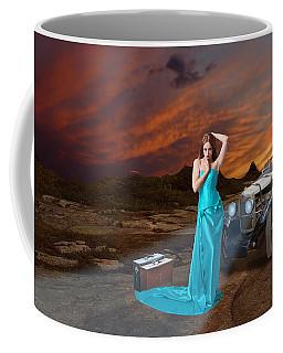 One Way Ticket To Paradise Coffee Mug