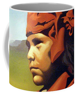 One Who Soars With The Hawk Coffee Mug