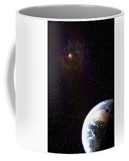 One Wonders The Watcher Coffee Mug