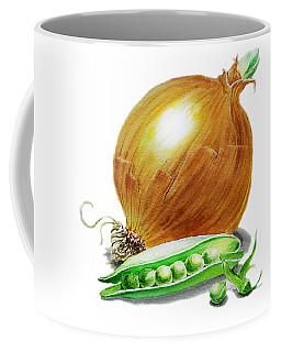 Onion And Peas Coffee Mug