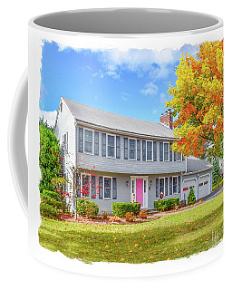 Only For Carolyn Coffee Mug by Delphimages Photo Creations