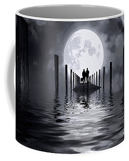 Only Us Coffee Mug by Mim White