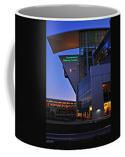 Coffee Mug featuring the photograph Connecticut Science Center by Mike Martin