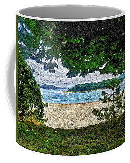 Coffee Mug featuring the painting Onset, Ma by Joan Reese
