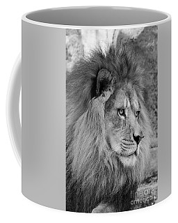 Onyo #13 Black And White Coffee Mug