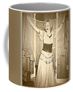 Coffee Mug featuring the photograph OPA by Denise Fulmer