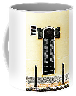 Open And Shut Coffee Mug