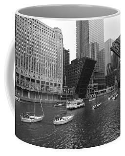 Open Bridges In Chicago Coffee Mug