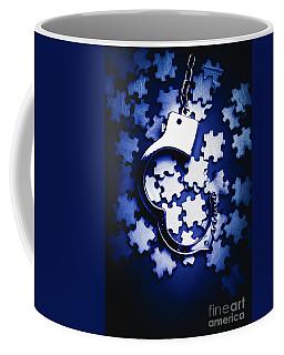 Open Case Mystery Coffee Mug