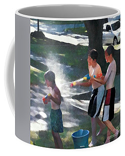 Coffee Mug featuring the photograph Open Fire by Jodie Marie Anne Richardson Traugott          aka jm-ART