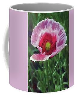 Open Heart Poppy Coffee Mug