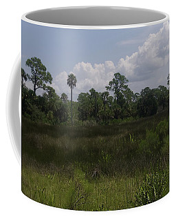Open Meadow Of Trees Coffee Mug