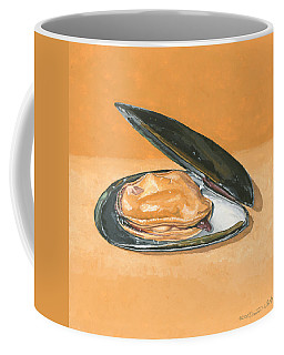 Open Mussel Coffee Mug
