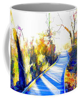 Open Pathway Meditative Space Coffee Mug