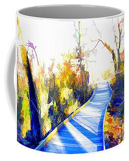 Open Pathway Meditative Space Coffee Mug
