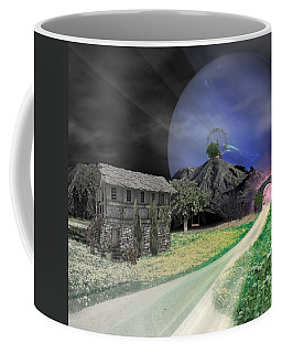 Open Portal Coffee Mug by Ally  White