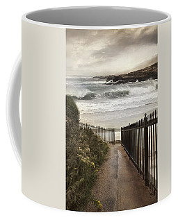 Coffee Mug featuring the photograph Open To The Sea by Robin-Lee Vieira