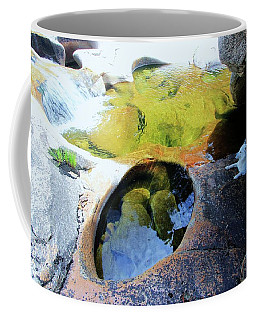 Open Your Mind....the Heart Will Follow Coffee Mug by Sean Sarsfield