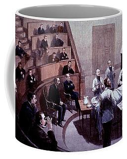 Operating Amphitheater, Administering Coffee Mug