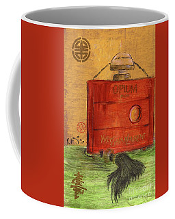 Coffee Mug featuring the painting Opium by P J Lewis