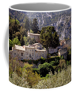 Coffee Mug featuring the photograph Oppede Le Vieux by Olivier Le Queinec