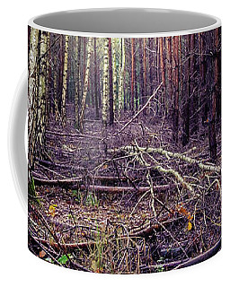 Coffee Mug featuring the photograph Opposition by Dmytro Korol